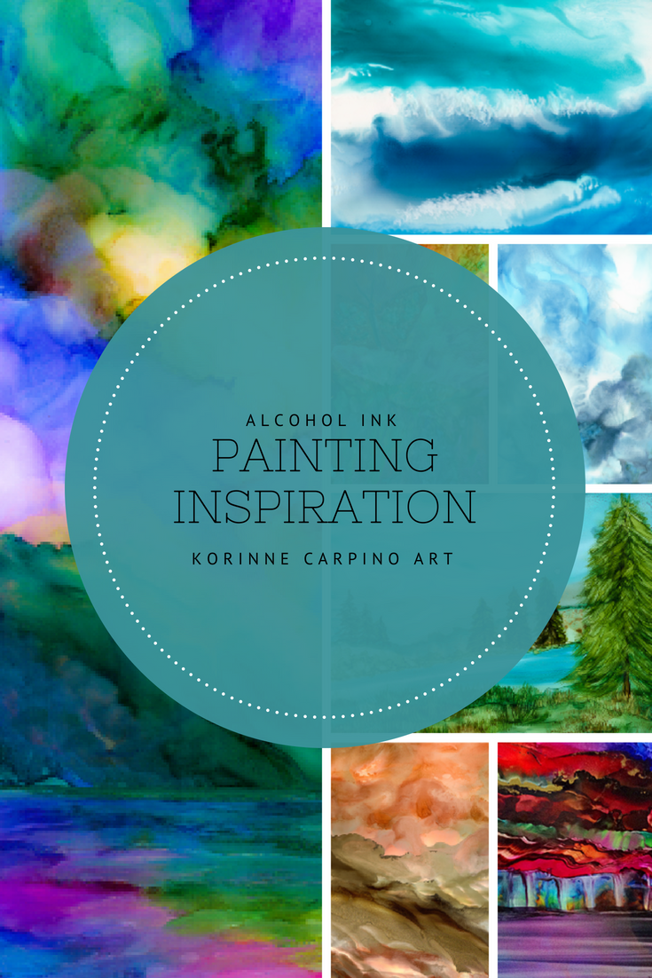 Alcohol Ink Painting Inspiration (1)