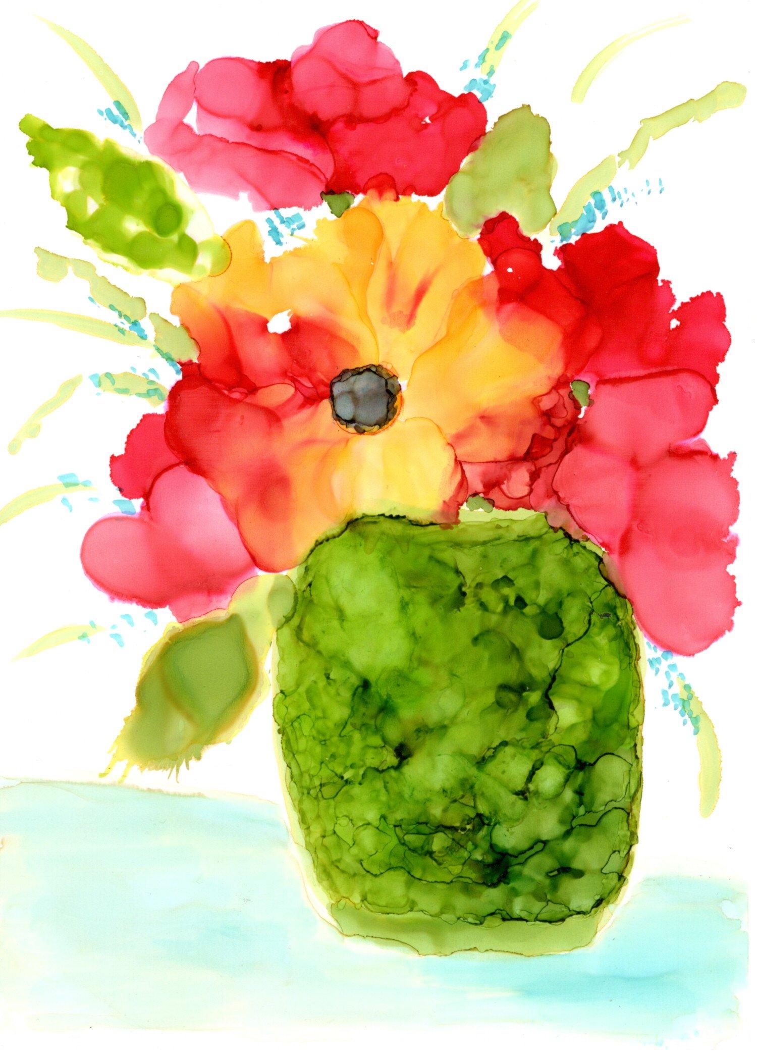 Vase of Flowers Blog Post