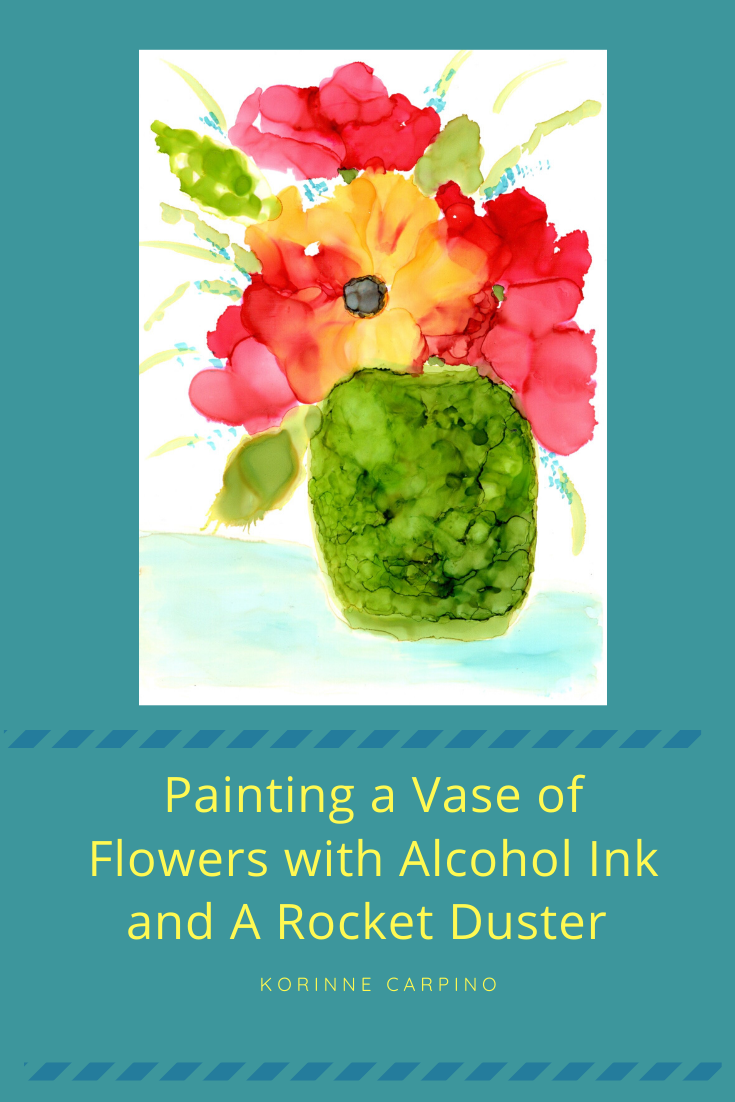graphic for vase of flowers blog