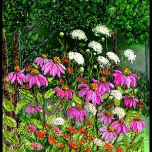 Wild Flower Garden Print