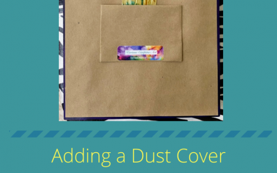 How to Add a Dust Cover and Hanging Hardware to your Artwork
