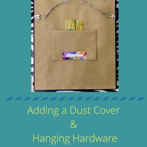 dust cover for artwork