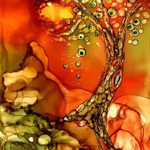Autumn Tree II Print