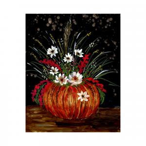 pumpkin bouquet autumn colors