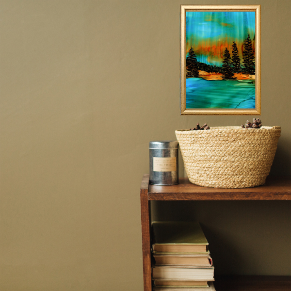 Soulful Forest Art Print Display