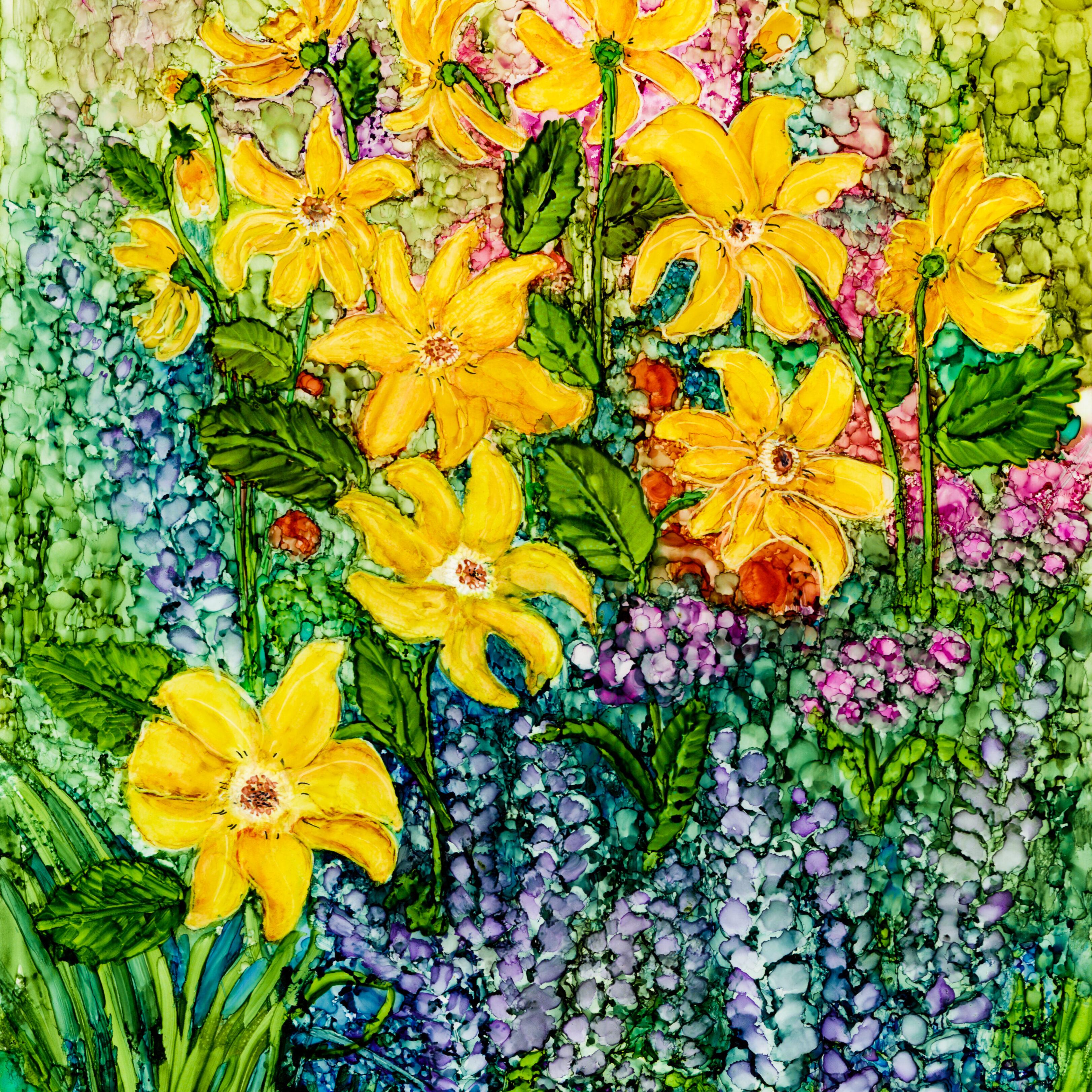 Cottage Garden Daisies